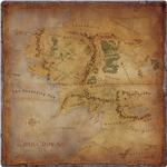 The Lord of the Rings: Journeys in Middle-earth Gamemat