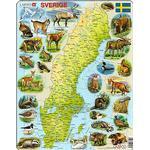 "Sverige pussel ""Pussel - Sverige - djur"""