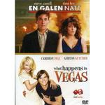 En Galen Natt / What Happens In Vegas (2 Disc) - Dvd
