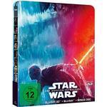 Star Wars - The rise of Skywalker (Ltd Steelbook) (3D Blu-ray + Blu-ray) (Import)