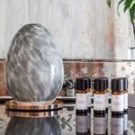 Aroma Diffuser & 3 Doftoljor - Paketpris