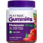 Melatonin 10mg Gummies Strawberry by Natrol