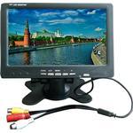 7-tums bildskärm av bilmonitor bärbar bildskärm support pal / ntsc videoingång 800x480 bil-tv -