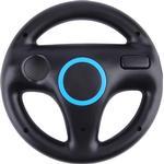 Ratt för racingspel till Nintendo Wii kontroller, blå/svart