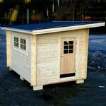 Sorselestugan Spiketält Med Förgård 6,5 m2