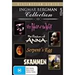 Ingar Bergman Collection (The Hour of the Wolf/The Pasion of Anna/The Serpents Egg/Skammen) (5 Discs) DVD