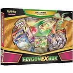 Pokemon EX Box: Flygon-EX - 4 Boosters, Promo & Oversize kort