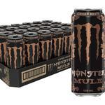 24 stk Monster Mule 500 ml Energidryck (utan socker) - Helt Flak