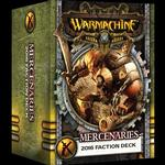 Forces of WARMACHINE: 2016 Faction Deck Mk. III - Mercenaries - Color Stat Cards - PIP-91109