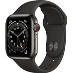 Watch Series 6 GPS + Cellular 40mm Sport Band Graphite / Black