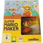 Super Mario Maker BIG BOX AMIIBO Nintendo Wii U
