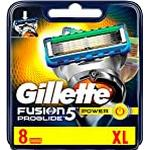 Gillette Fusion ProGlide Power Blades, Pack of 8