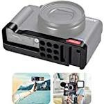 Kameratillbehör för Sony ZV1 förlängningsfäste basplatta för ZV-1 w kall sko