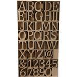 Bokstäver, siffror och symboler av trä, H: 13 cm, tjocklek 2 cm, 160 s