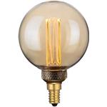 Päronlampa LED Mini Globe Amber Dimmbar E14 - Halo Design