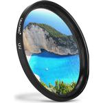 UV Filter för Canon EF 100 Canon EF-M 18-55 Canon EF-S 55-250 Canon MP-E 65 (Ø 58mm) Skydds Filter
