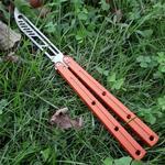 balisong sea monster Kraken G10 trainning trainer knife not sharp jilt knife collection folding knife bushing system Xmas gift