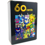 60 st Pokemon kort ( 49 st V + 11 st Vmax)