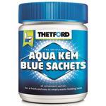 Aqua Kem® Blue Sachets med doseringskapsel