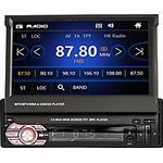 1 din bilradio 7 tums hd 1080p fm bluetooth bil multimedia mp5-spelare för universell bilstereo 9601s infällbar pekskärm bilradio stöd fm radio usb rattstyrning Lightinthebox