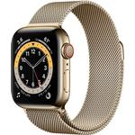 Watch Series 6 GPS + Cellular 40mm Milanese Loop Gold
