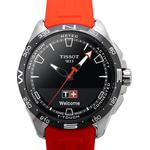 Touch Collection T-Touch Connect Solar Black Dial Men's Watch