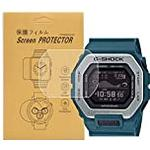 [3-Pcs] For Casio GBX-100 g shock Screen Protector,Full Coverage HD Clear Anti-Bubble and Anti-Scratch