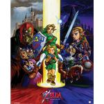 Zelda Ocarina Of Time Mini Poster