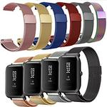 Smart Watch-band för Amazfit Xiaomi 1 pcs Milanesisk loop Rostfritt stål Ersättning Handledsrem för Huami Amazfit Pace Watch Huami Amazfit Stratos Smart Watch 2 / 2S Amazfit GTR 42mm Amazfit GTR 47mm Lightinthebox