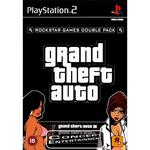 PS2 Grand Theft Auto GTA - Double Pack