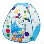 3 In1 Baby Tent Kid Crawling Tunnel Play Tent House Ball Pit Pool Tent för barn Leksak Ball Pool Ocean Ball Holder Set