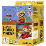 Nintendo Wii U - Super Mario Maker (inkl. Amiibo Mario Figure) - front