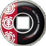 Element Section 52mm Skateboardtillbehör RED - One size