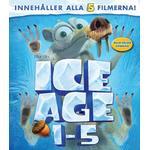 Ice Age 1-5 (Blu-ray)
