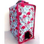 Kylväska för boxvin Flamingo retro