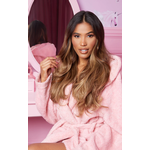 LullaBellz Super Thick 22'5 Piece Blow Dry Wavy Clip In Hair Extensions Mellow Brown