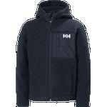 Helly Hansen Jr Champ Pile Jacket Vinterjackor Navy - 12