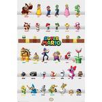Concept Entartainment Super Mario Character Parade Maxi Poster