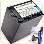 PremiumDigital HDR-CX450 Large Replacement Battery for Sony Handycam Camcorder - Black