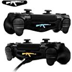 LLC Integral - 2pcs pair Game Light Bar Vinyl Stickers Decal Led Light Bar Cover for Sony Playstation 4 Dualshock 4 PS4 PS4 Slim PS4 Pro Controller Gamepad Skins Removable (AK-47)