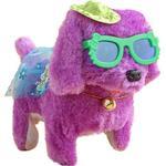 Elektronisk gående plysch färgglad hund, interaktiv barnleksak, barnjul - Purple - China