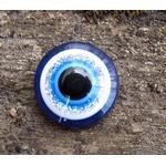 Cabochon av resin - Onda ögat 14mm, 1 styck