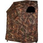 Camouflage-tält / gömsle 1-man inkl stol Brun/Grön-Camo
