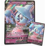 Pokémon Promo Glitterkort X 2: Hatterene V Pokemonkort