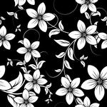 Självhäftande Kakeldekor 12-pack Blommor
