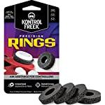 KontrolFreek Precision Rings   Aim Assist Motion Control for PlayStation 4 (PS4), PlayStation 5 (PS5), Xbox One, Xbox Series X, Switch Pro & Scuf Controller   Black