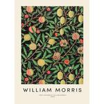 """Canvastavla William Morris """"William Morris - Fruit"""" från JUNIQE - Konstnär: Vintage by JUNIQE"""
