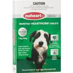 Nuheart Generic Heartgard Tabs For Medium Dogs 11 To 23kg (Green) 12 Tablet