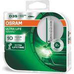 Glödlampa för bil OS66340ULT-HCB Osram D3S 35W 42V (2 Delar)