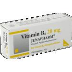 VITAMIN B6 20 mg Jenapharm Tabletten 100 St
